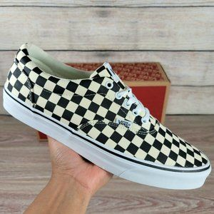 NEW Vans Doheny Checkered Low Men's Athletic Casual Skate Shoes